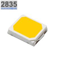 供应2835灯珠0.5W白光55-60LM高显80RA优质LED贴片光源