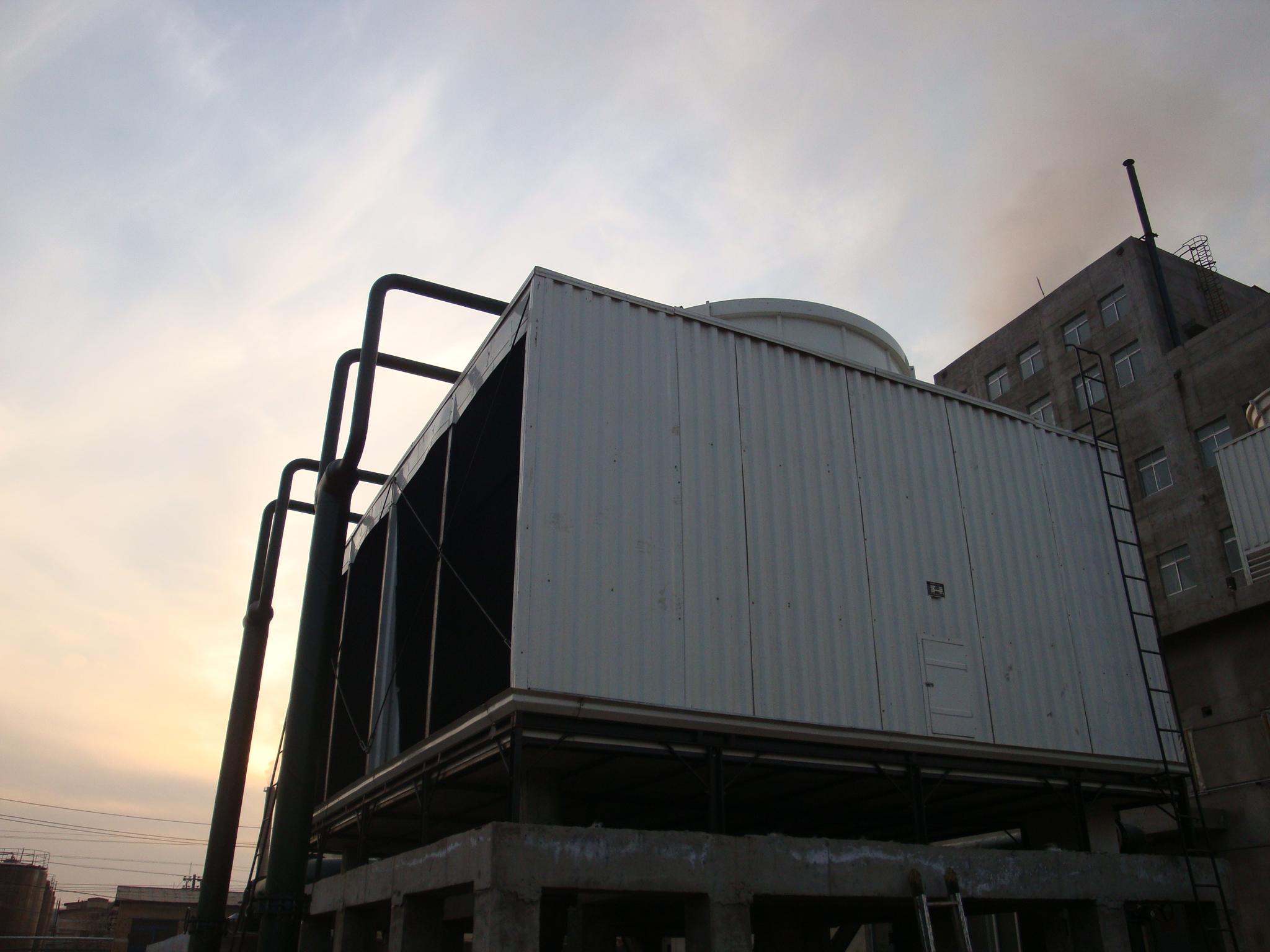 方形逆流式高温型玻璃钢冷却塔价@玻璃钢冷却塔设计参数@义马玻璃钢冷却塔生产商