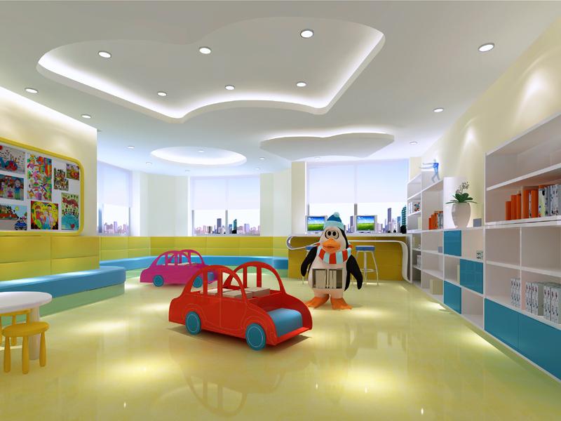 广州国际教育机构设计  广州培训机构装修设计 广州培训学校装修 广州学校机构装修设计