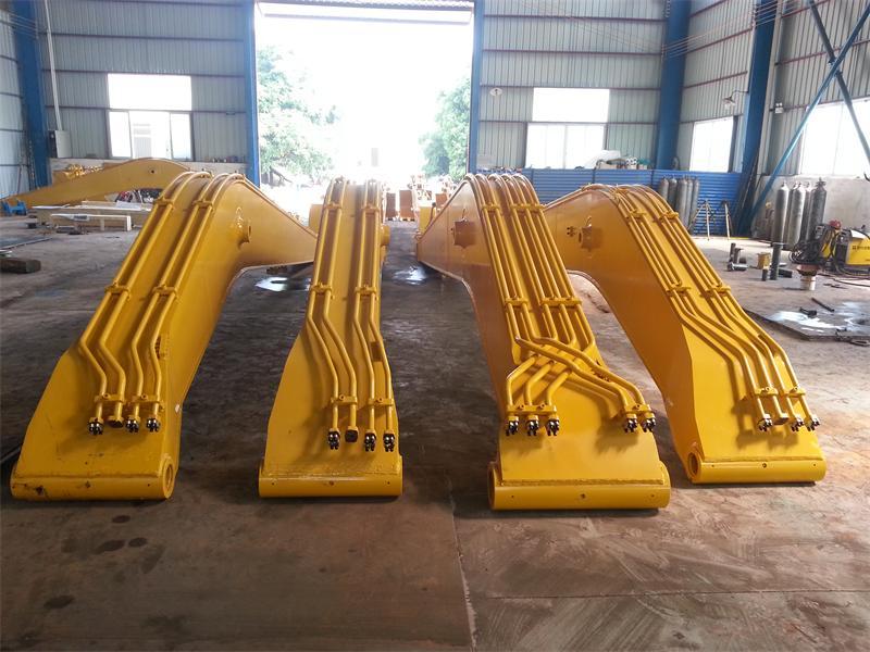 专业改装15米至30米加长臂 挖机加长臂 改装加长臂厂家、钩机加长臂改装厂