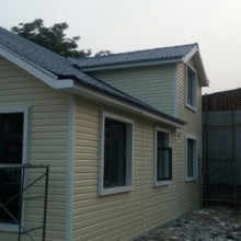 温州活动房PVC外墙挂板厂家成本价格专业直供  外墙装饰板批发