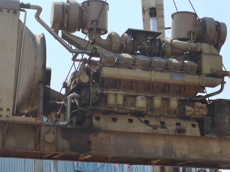 使用了11个小时,济柴8百发电机组 济柴发电机组
