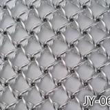 JY-062北京高级写字楼不锈钢螺旋装饰网 圆丝螺旋网帘 隔断 厂家定制