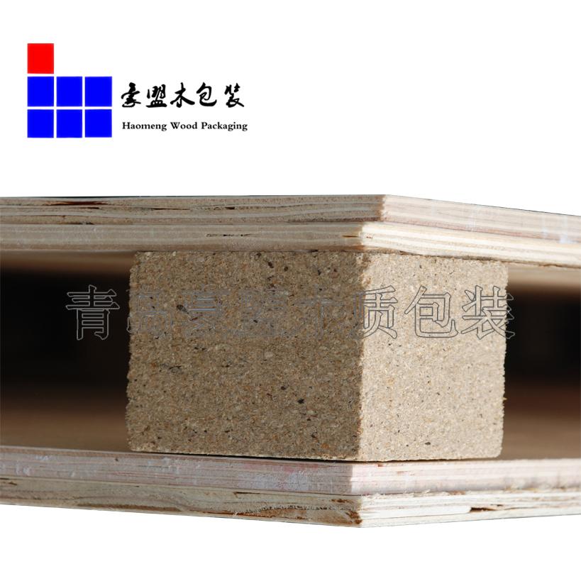 青岛豪盟木质包装生产能力强 胶合板托盘免熏蒸托盘