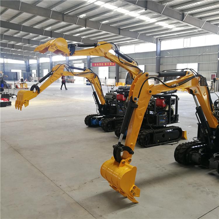 厂家供应迷你小型挖掘机 360度旋转
