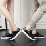 都市男女情侣鞋透气小白鞋简约潮鞋男鞋英伦时尚休闲鞋
