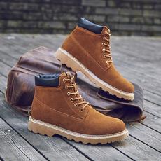 秋季男士短靴新款厂家出货男士工装靴