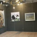 4公分厚度无缝展板展墙 国画展览板 活动展墙 美术展览板
