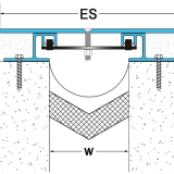 楼地面变形缝装置 楼地面变形缝安装厂家