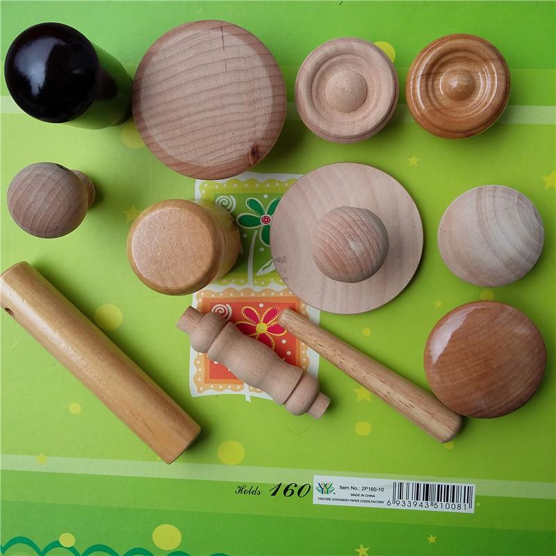 衣柜子实木圆形拉手供应商 衣柜子实木圆形木拉手 家具配件抽屉 衣柜子实木圆形拉手 荷木材料磨菇形24家具木把手