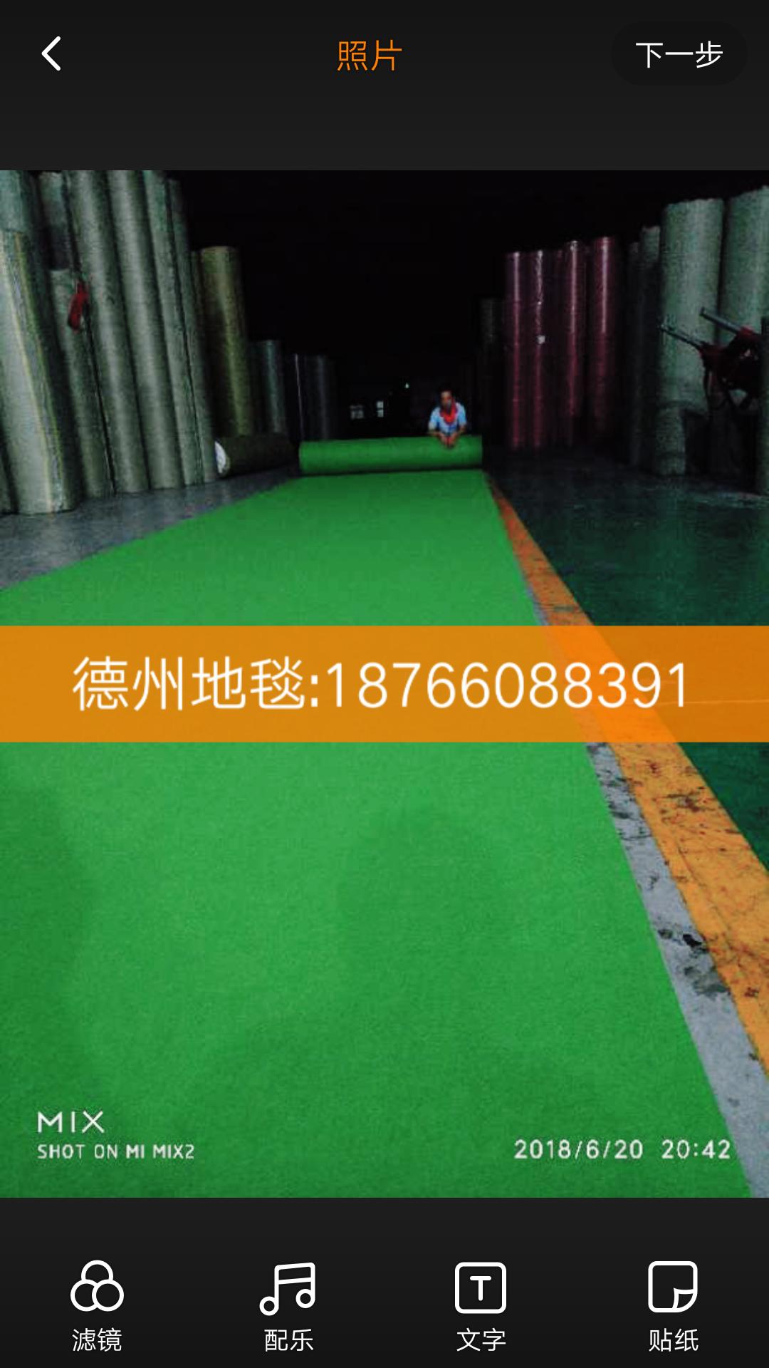 果绿平面,展馆地毯