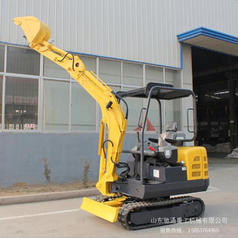 液压小挖机 橡胶履带挖掘机 15型挖掘机 果园专用小挖机