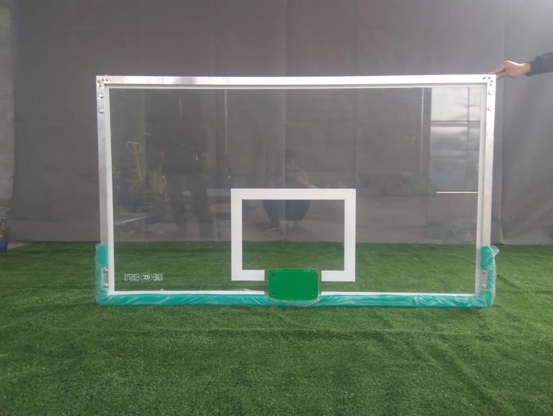 供应深圳篮球板钢化玻璃篮球板更换篮板  深圳篮球架厂家专业更换篮球板 透明钢化玻璃篮球板 纤维篮球板