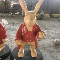 卡通兔子雕塑厂家