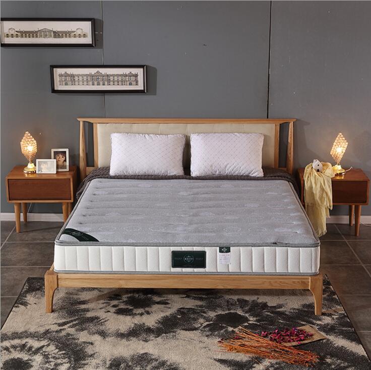 厂家直销进口乳胶床垫席梦思 3D弹簧床垫棕垫软硬定制北欧