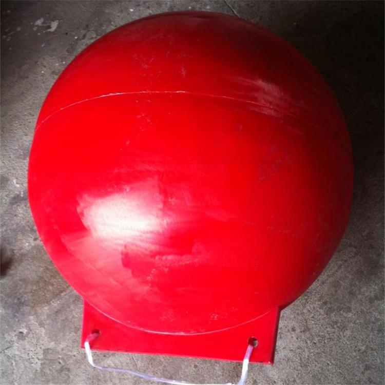 安康pe材质大浮球 空心河道塑料浮排