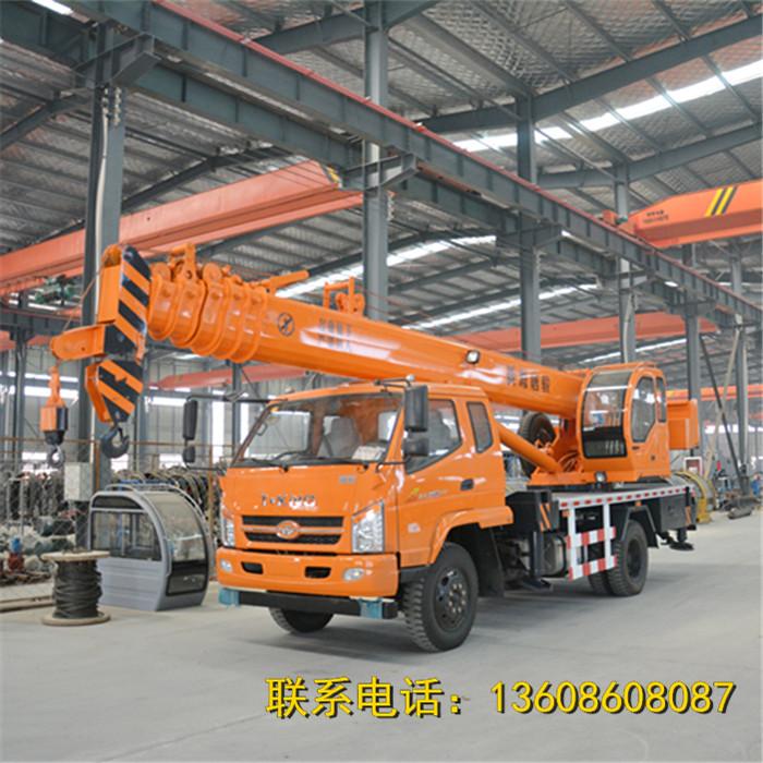 河南新源10吨汽车吊小型吊机厂家直销