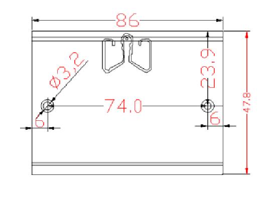 XCX8625导轨卡扣生产厂家 XCX8625/导轨卡扣生产厂家