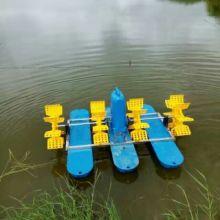厂家新款国标100%铜线鱼塘六叶轮水车式增氧机2.2KW   六叶水车式增氧机批发