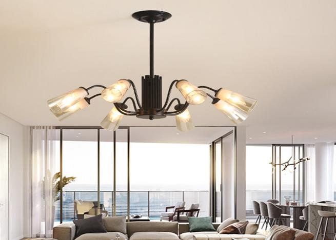 厂家LED现代灯后现代新款时尚简约大方美式北欧款 美丽的风格设计 美丽的北欧风格