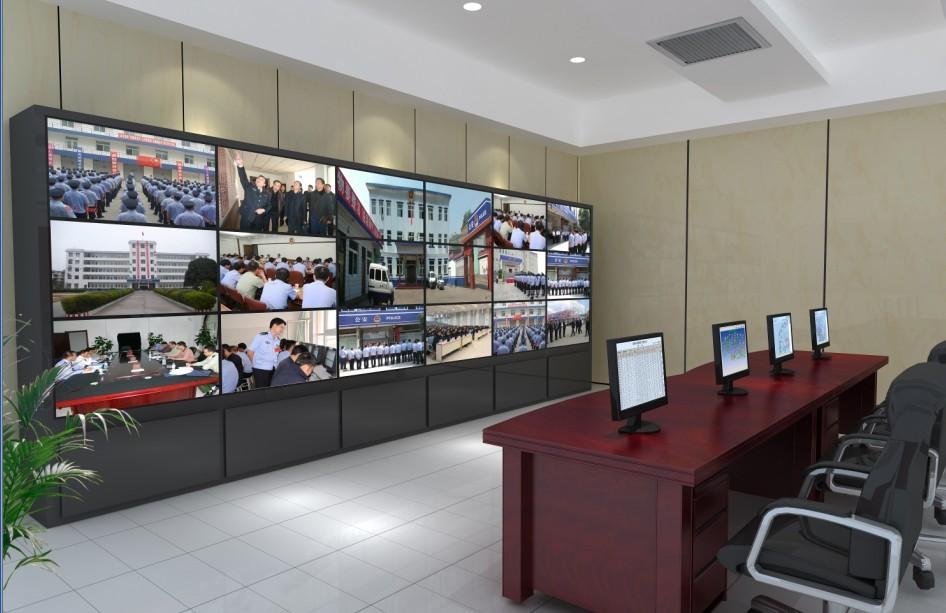 43寸液晶监视器 工业显示屏 安防液晶显示屏