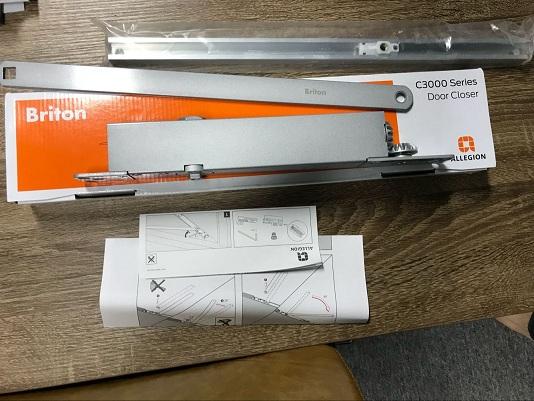 安朗杰BRITON C3024H隐藏式闭门器全国经销商