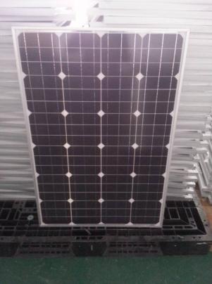 单晶100W太阳能板生产厂家   XN-18V100W-M