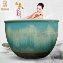 景德镇陶瓷泡澡缸温泉洗浴缸陶瓷大缸厂家