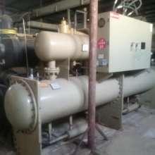 二手制冷机组出售制冷量1914KW螺杆式冷水机组 低温盐水冷冻机组制冰机批发