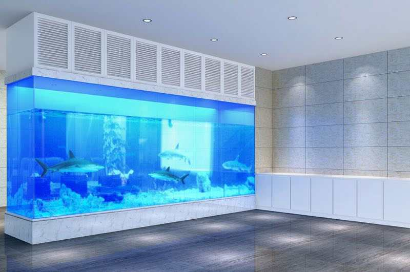 鱼缸大容量找杭州水族玻璃鱼缸