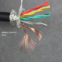 10芯拖链电缆10芯0.2平方高柔性双绞屏蔽拖链电缆TRVSP5×2×0.2mm2耐折1000万次不断