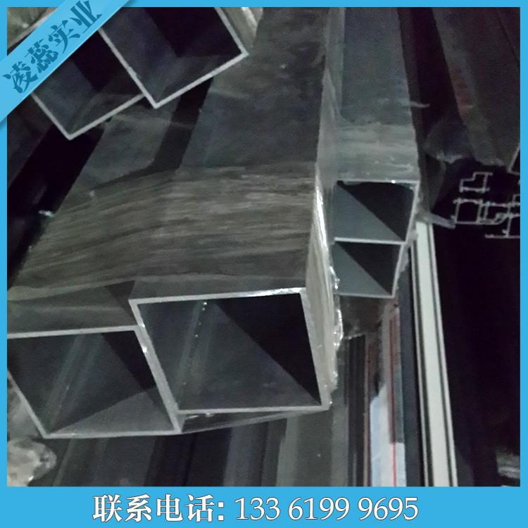 铝管材120*120*2直角铝方管空心铝合金型材6063铝通