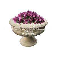 供应广州砂岩花盆|人造砂岩花钵|景观花钵|欧式砂岩花盆|石雕花钵