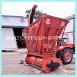 拖拉机带秸秆回收机