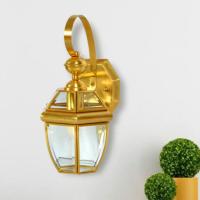 防水全铜壁灯