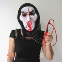 万圣节鬼服装面具、马脸南瓜灯欢迎选租