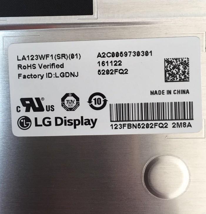 全新原装A规LG12.3寸 LA123WF1-SR01车载屏 车载工业屏