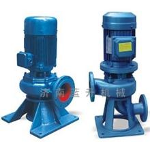 山东蓝升机械有限公司-LW型直立式无堵塞排污泵-获得多项技术认证-济南直立污水泵厂家图片