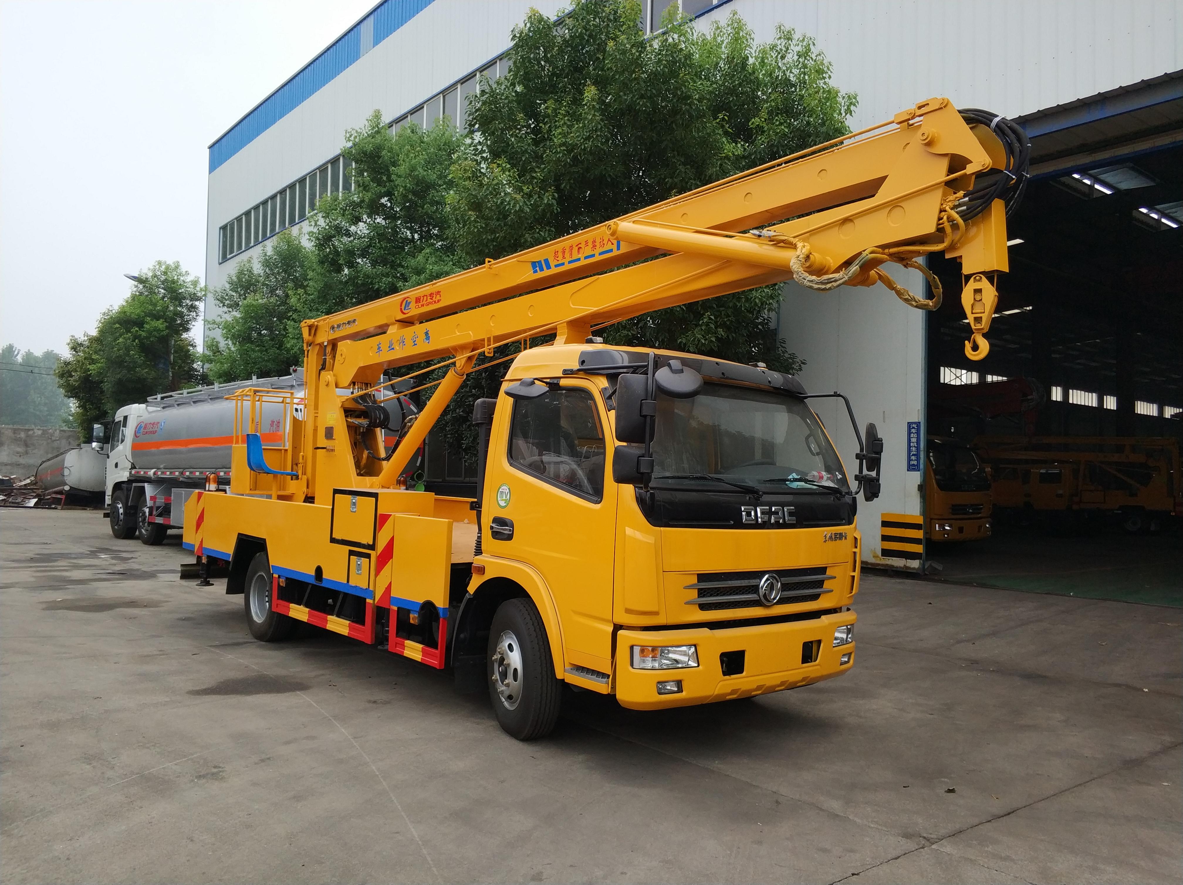 东风多利卡18米高空作业车配置  今日新款东风国五18米高空作业车价格  程力公司本部总经销