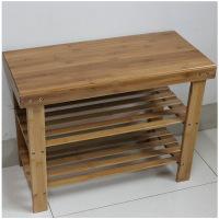 两层条形平板换鞋凳