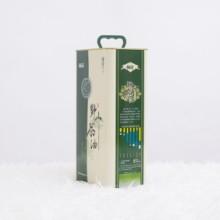 5L铁桶装野生山茶籽油礼盒厂家直销