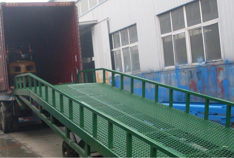 现货销售液压登车桥8-12吨 固定移动式登车桥月牙桥厂家直销