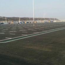 天津交通设施生产销售施工安装道路划线车位线图片