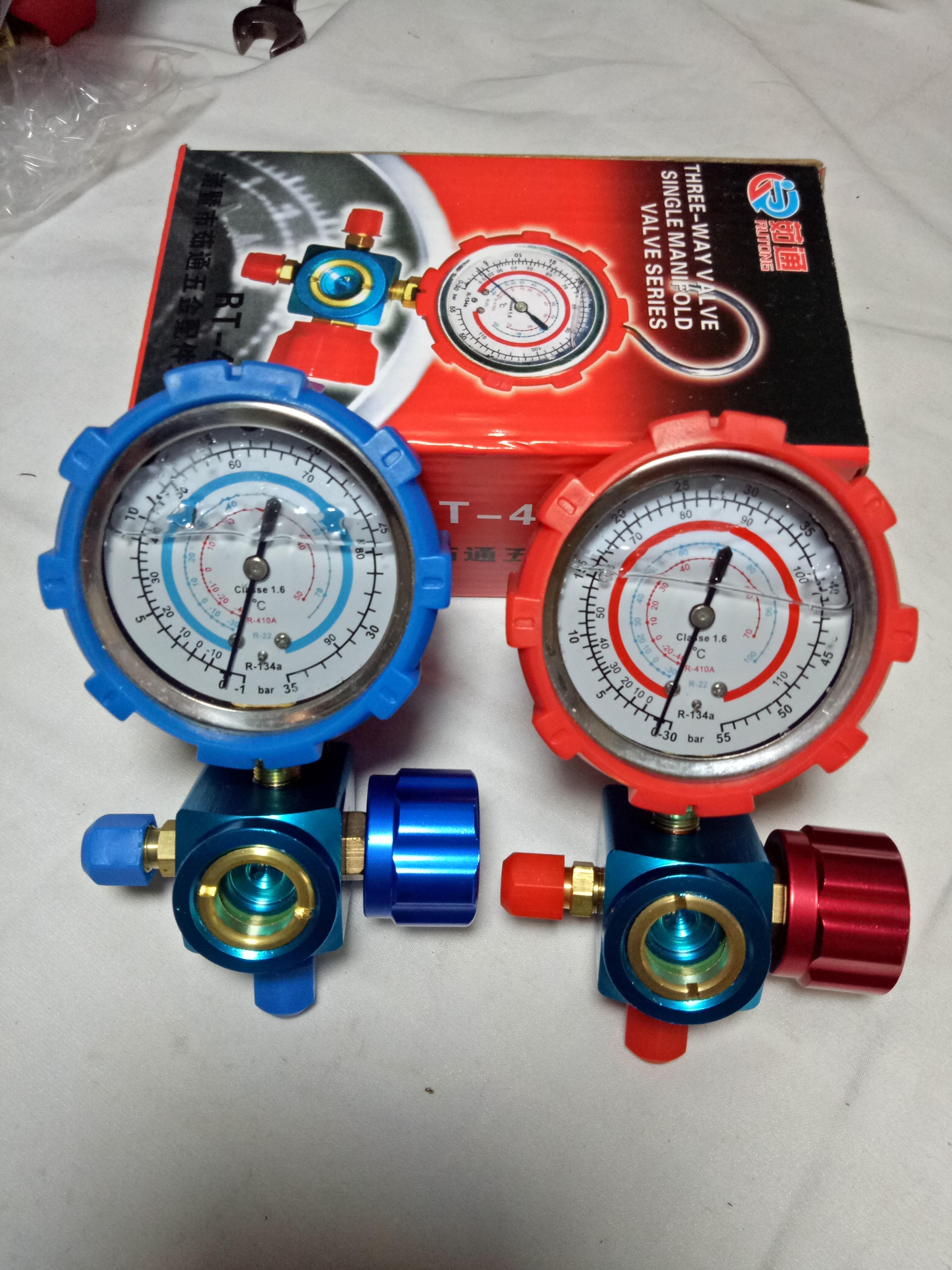 生产供应 低压单表阀 冷媒单表阀 雪种表阀 三通阀 加液阀