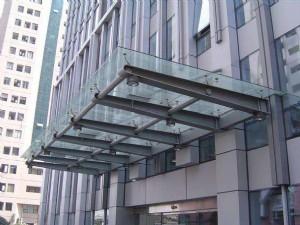 安徽玻璃雨棚 马鞍山玻璃雨棚批发 安庆玻璃雨棚厂家