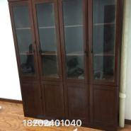 油漆书柜贴实木皮文件柜书柜高档图片
