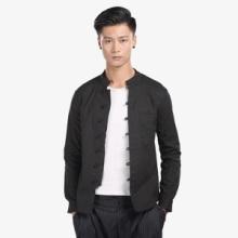 秋季新款中国风青年男装盘扣亚麻男式衬衫男士长袖修身衬衣定做#150接单来样生产批发