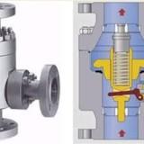 顶部导向气动调节阀  气动快装角形调节阀 ARC1000自控回流阀