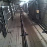 电梯井道无机纤维喷图片