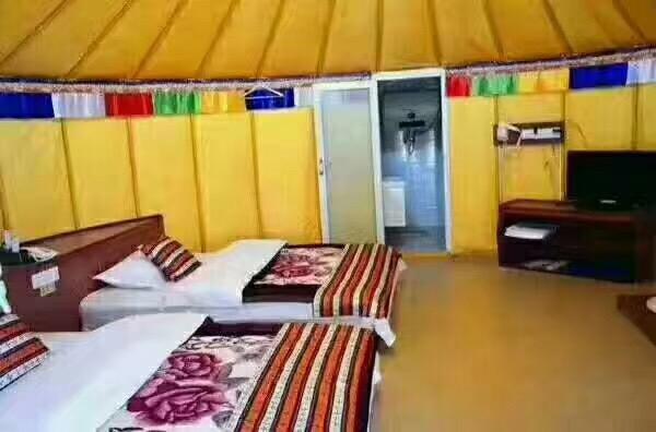 住宿蒙古包_款式新颖结实耐用,五层防水保暖,3到20米蒙古包,按需定做
